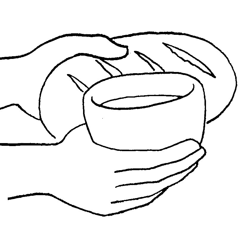 Eucharist holy communion for Communion for kids coloring pages