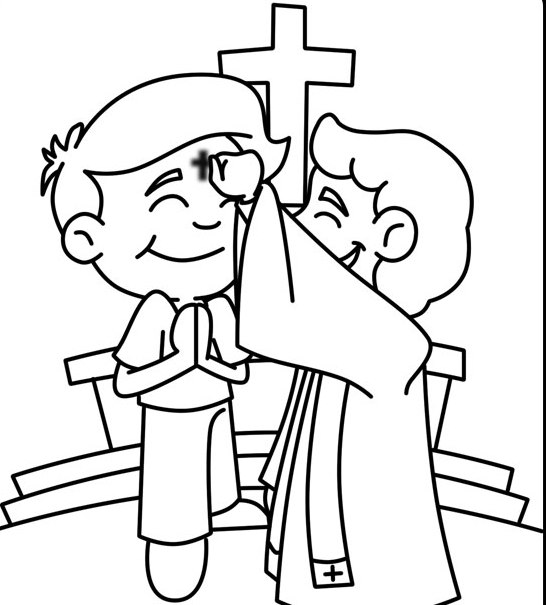lenten coloring pages - photo#17