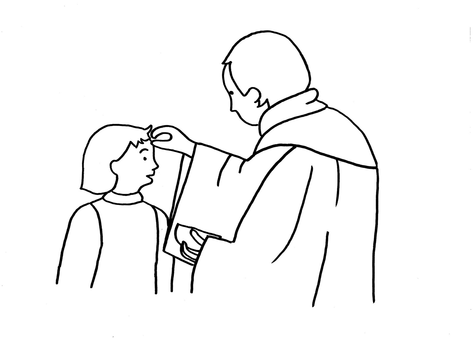 ash wednesday coloring pages - photo#15