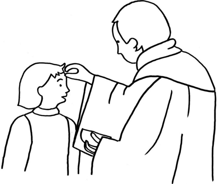 ash wednesday coloring pages - photo#3