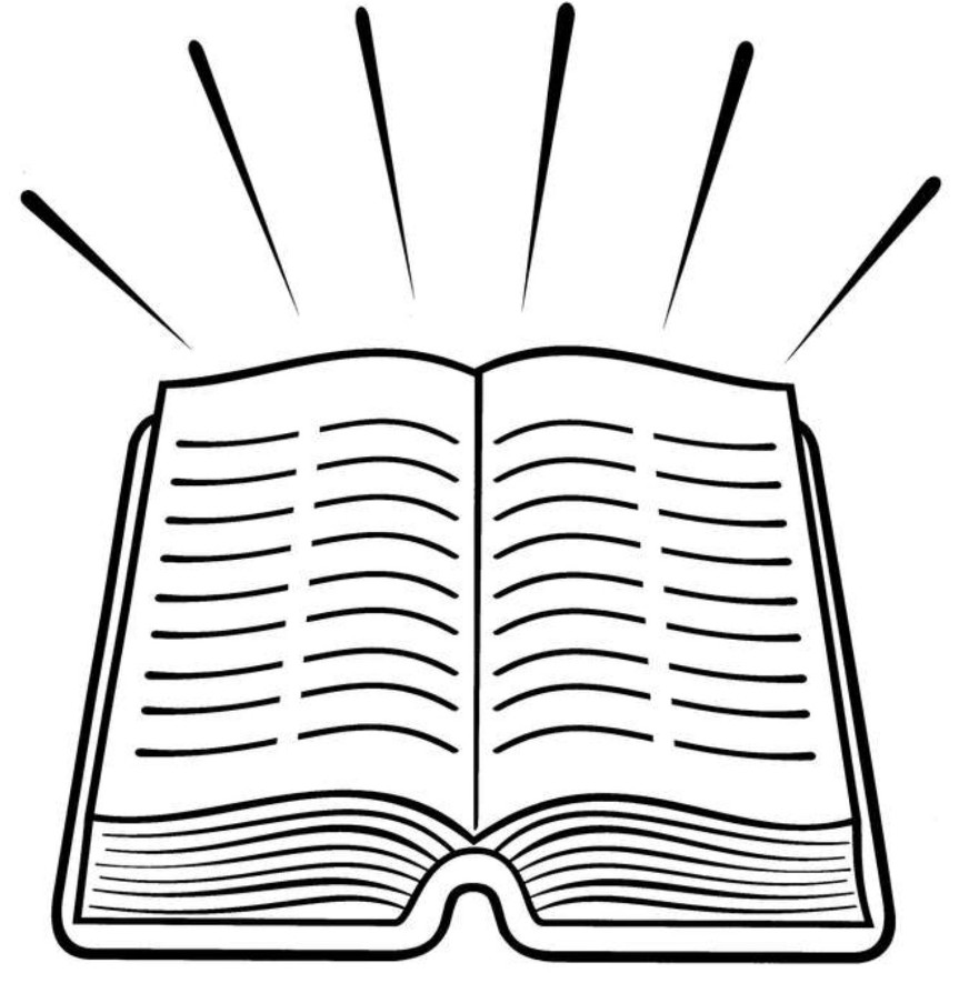 The Holy Bible Holy Bible Coloring Page
