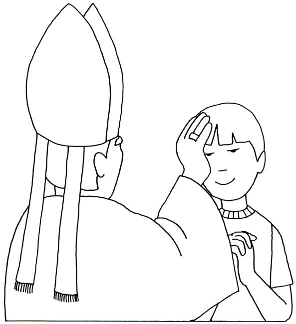 02 - Coloring Pages Catholic Sacraments