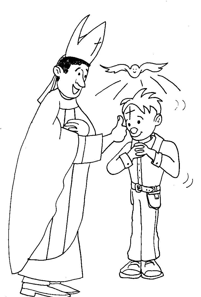 sacraments of the catholic church coloring pages - photo #46