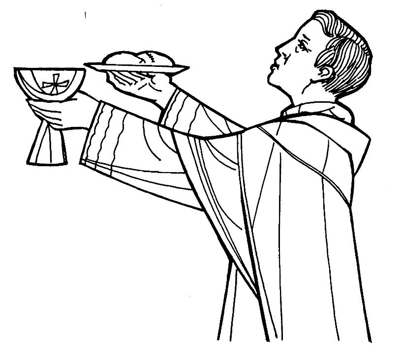 HOLY ORDERS/VOCATIONS - ASCENSION CATHOLIC PARISH |Holy Orders Clipart