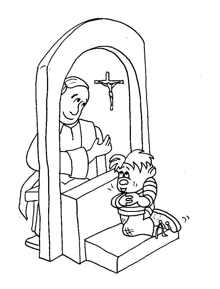 Reconciliation Coloring Pages Reconciliation