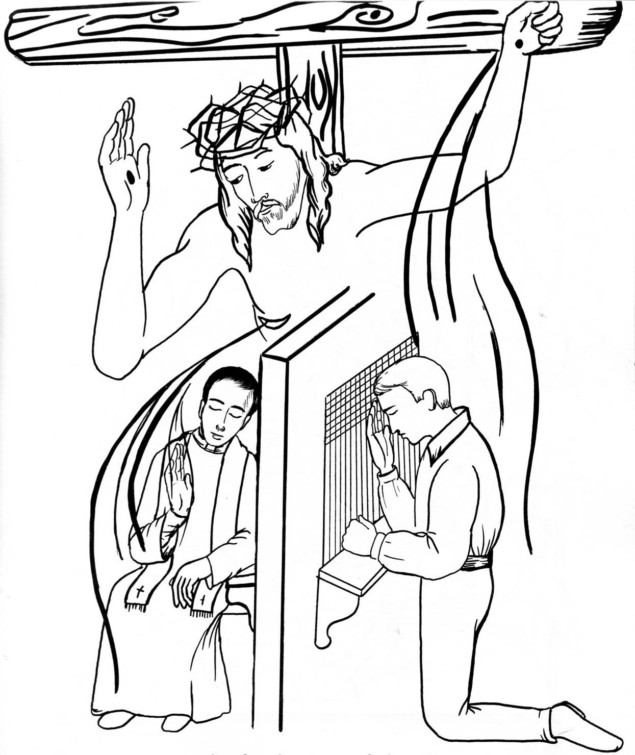 Coloring pages 7 sacraments - Coloring Pages 7 Sacraments 46