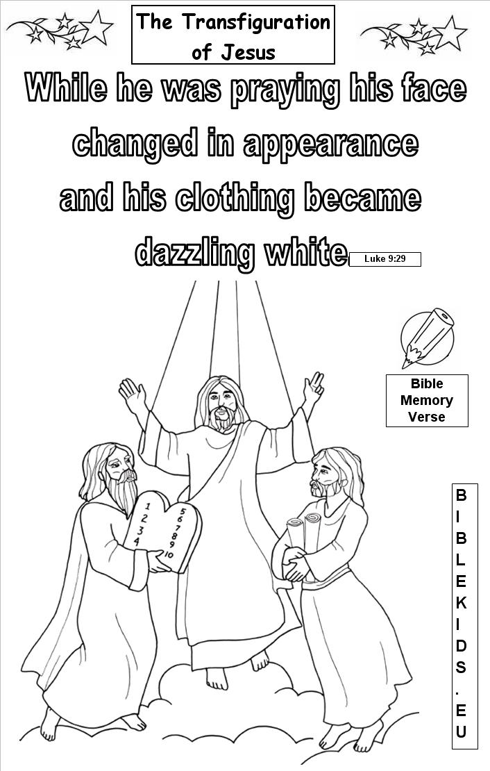 Pictures of The Transfiguration Of Jesus For Kids - #rock-cafe