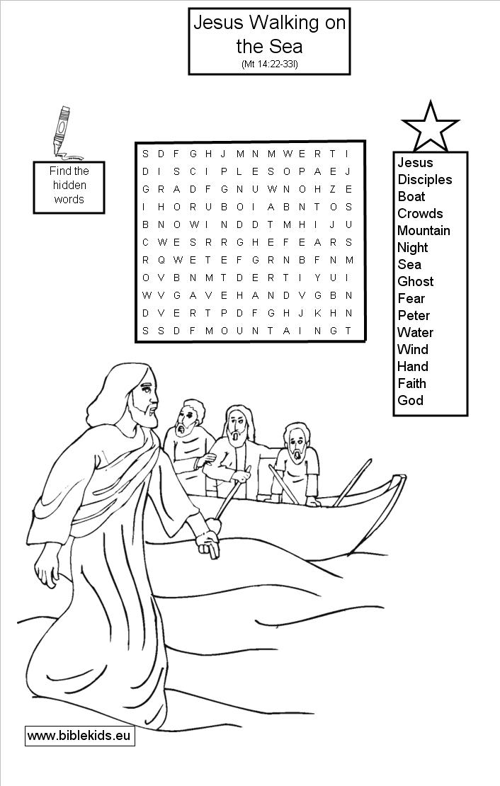 Pin Bible Word Search Puzzles on Pinterest