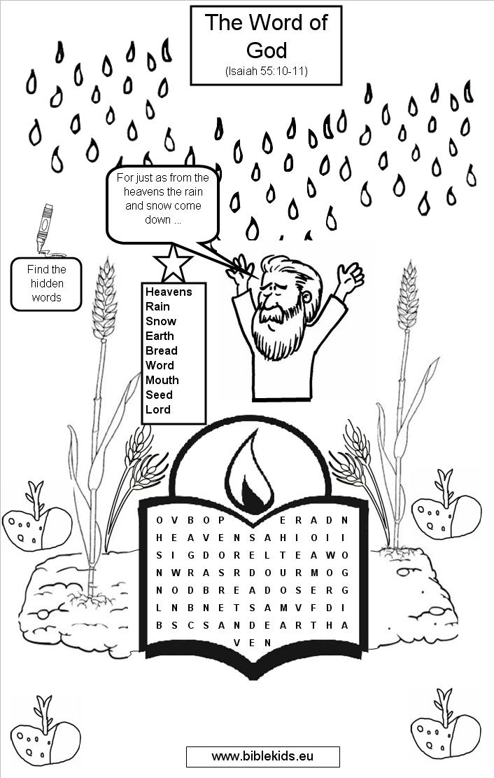 Bible Word Search Puzzles Printable