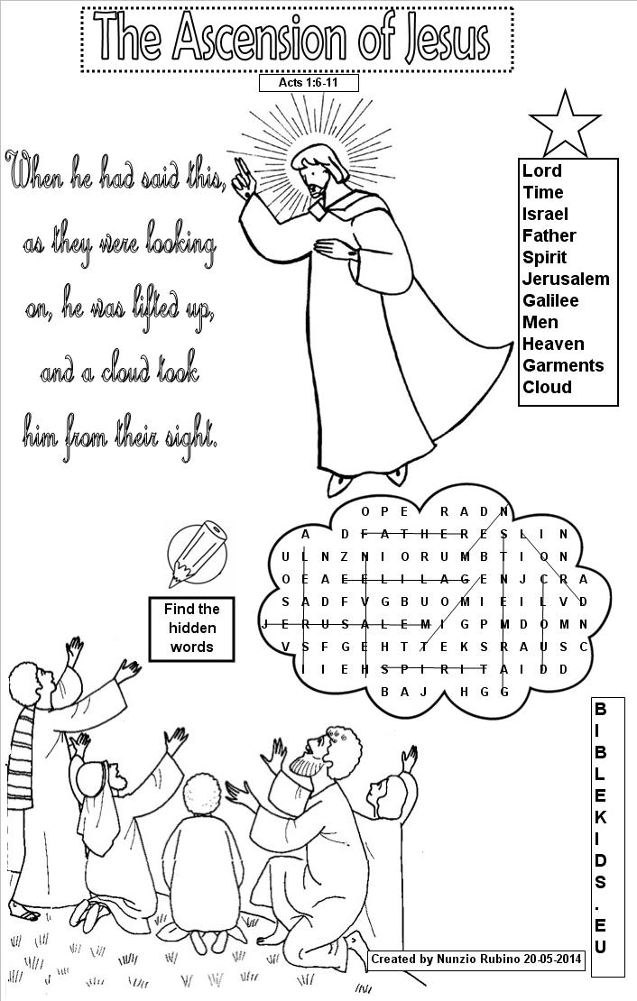 Bible Word Search Puzzles - Printable Bible Word Search Puzzles