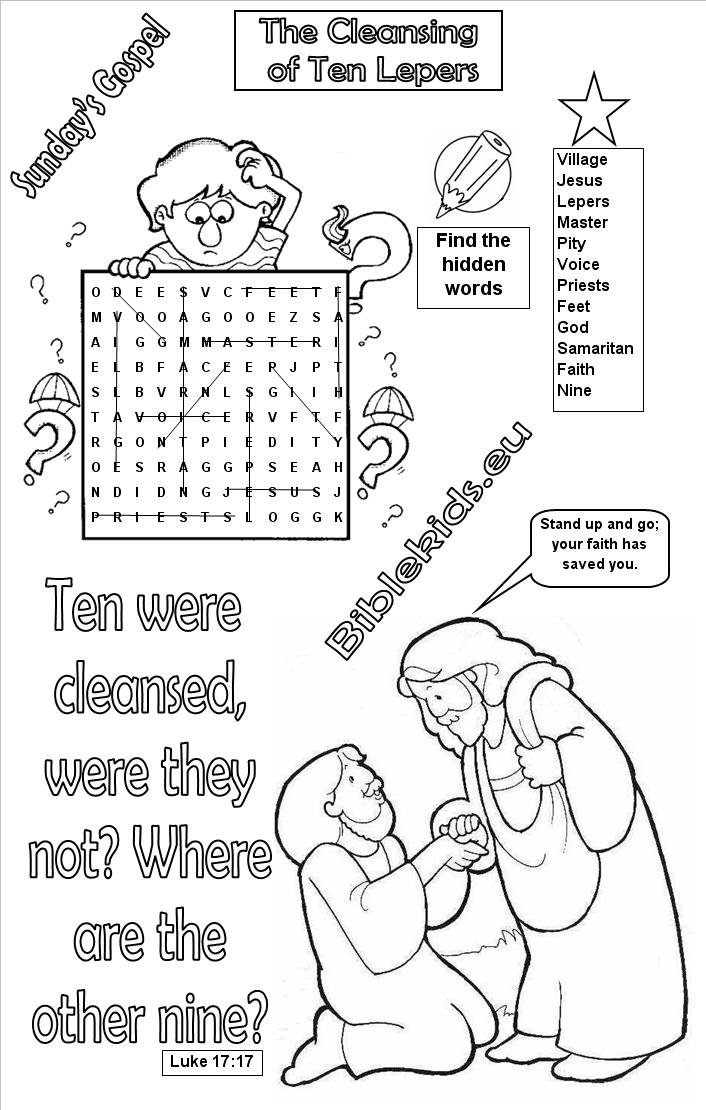 Holiday Coloring Pages Peter And Cornelius Page Bible Word Search Puzzles