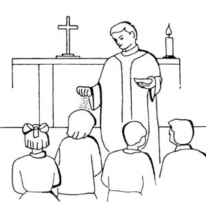 ash wednesday coloring pages - photo#19