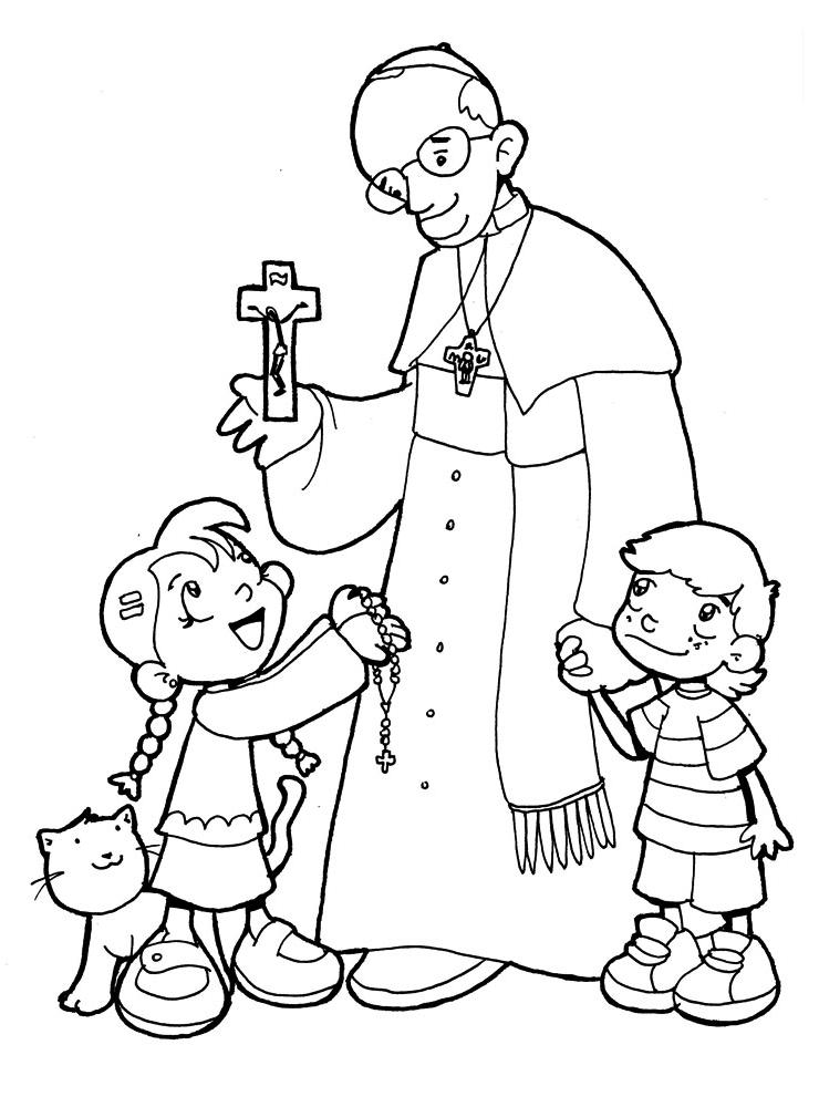 Pope Francis Coloring Pages Pope Francis