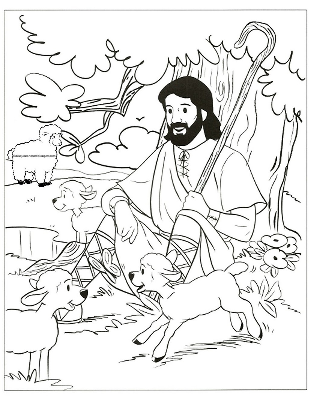 shepherd coloring page  28 images  free coloring pages of