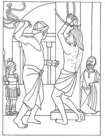 holy weel coloring pages - photo#12