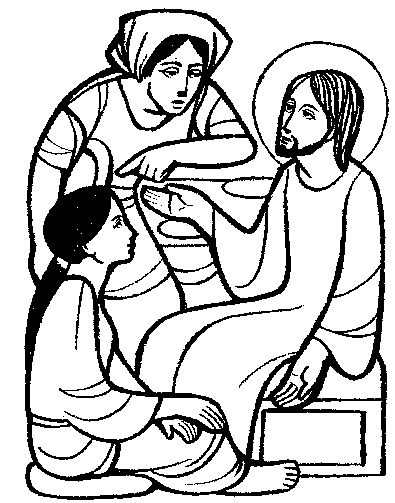 Mary and martha Pictures of jesus