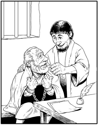 St Timothy Coloring Pages