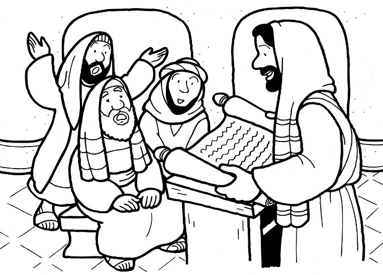 paul and ananias coloring page - free coloring pages of saul conversion to paul