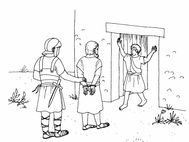 coloring pages apostle paul - photo#29