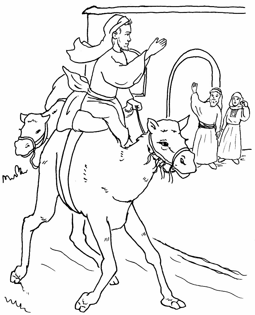 prodigal son coloring pages - photo#28