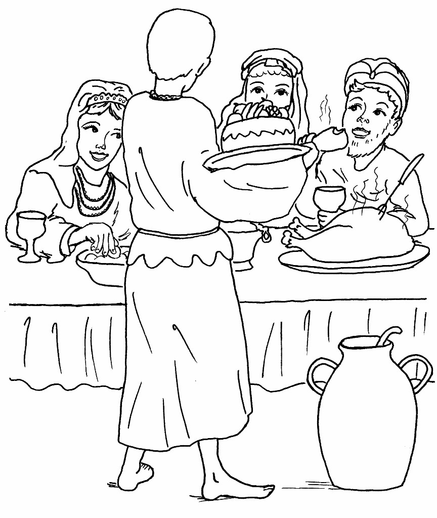 prodigal son coloring pages - photo#24