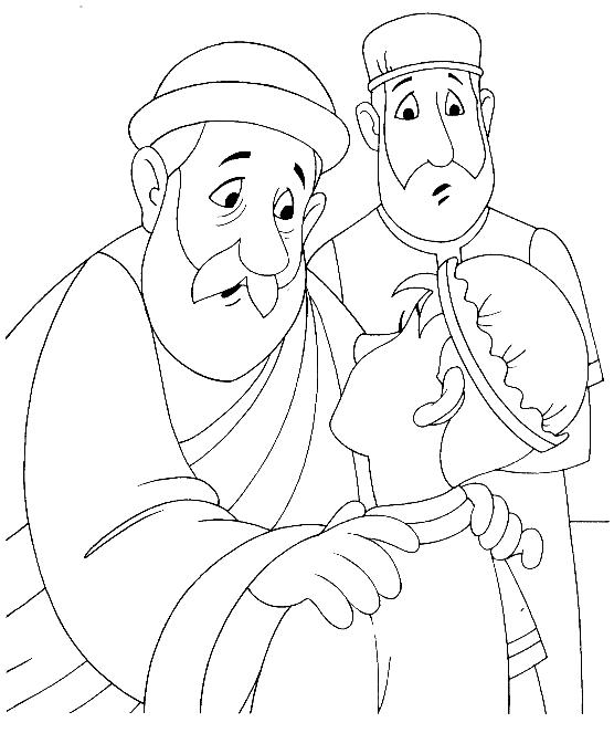prodigal son coloring pages - photo#29