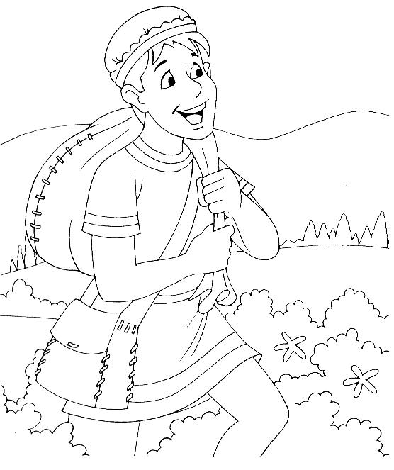 prodigal son coloring pages - photo#18