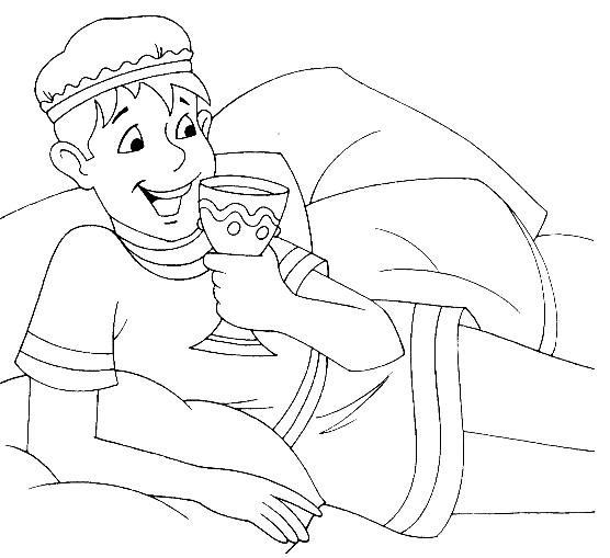 the lost son coloring page coloring pages