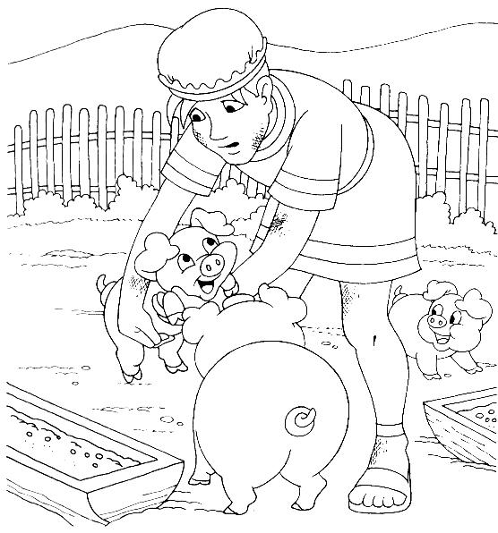 prodigal son coloring pages - photo#4