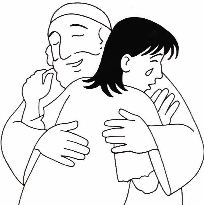 prodigal son coloring pages - photo#11