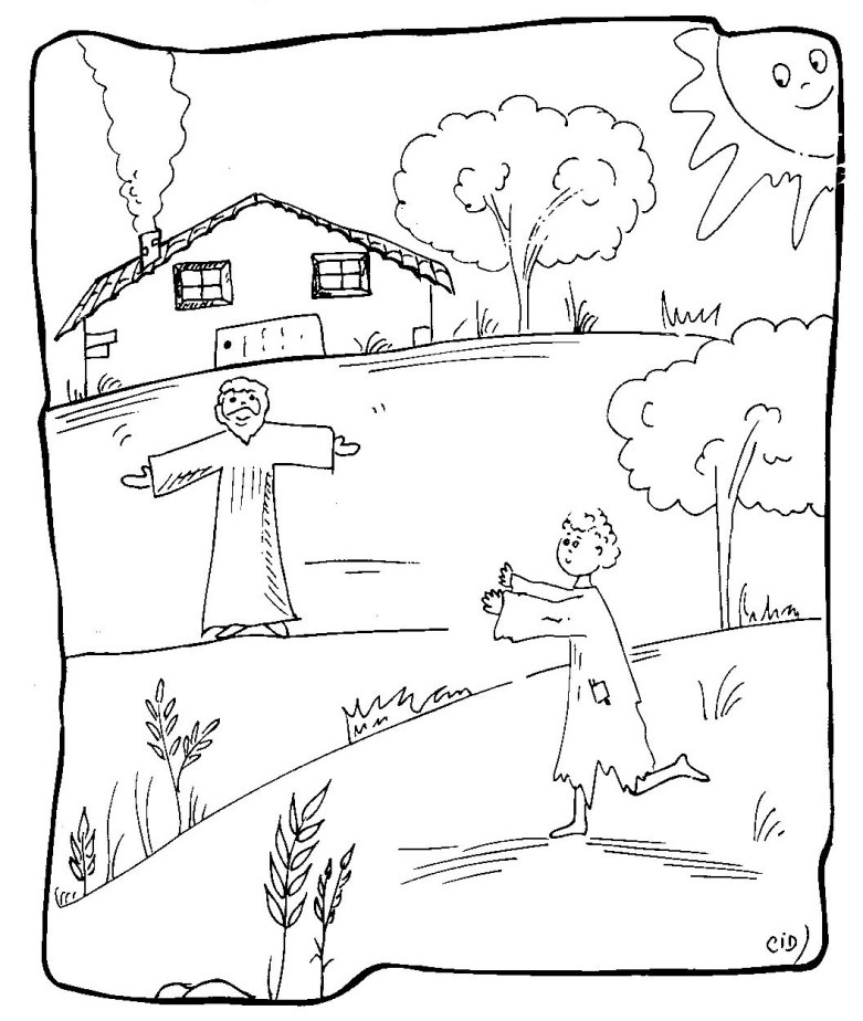 the son coloring pages - photo#19