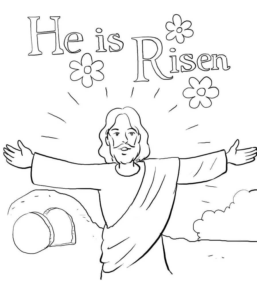 the resurrection of jesus he is risen