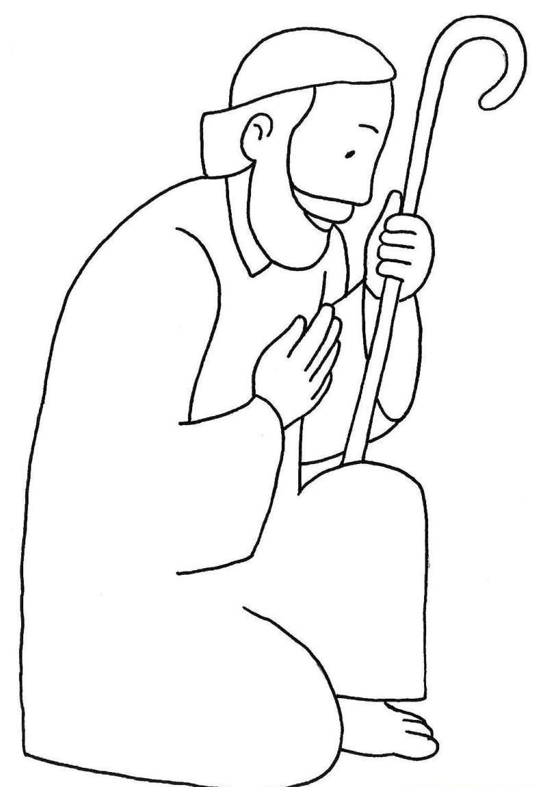 coloring pages of st joseph photo23