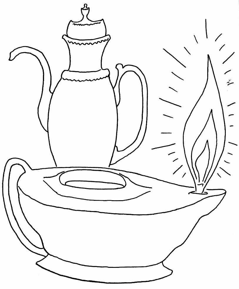 coloring pages 10 virgins - photo#1