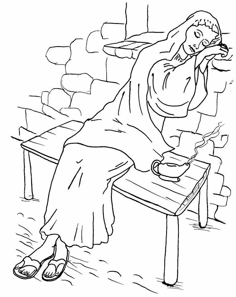 coloring pages 10 virgins - photo#10
