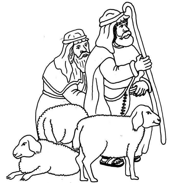 angels and shepherds of bethlehem coloring pages angels