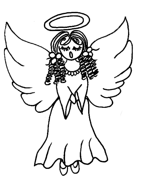 Similiar Angels Singing To Shepherd's Coloring Pages Keywords