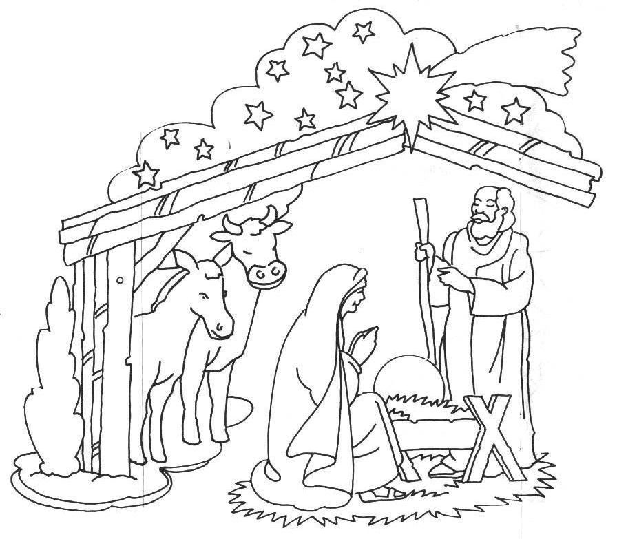 birth of jesus clipart