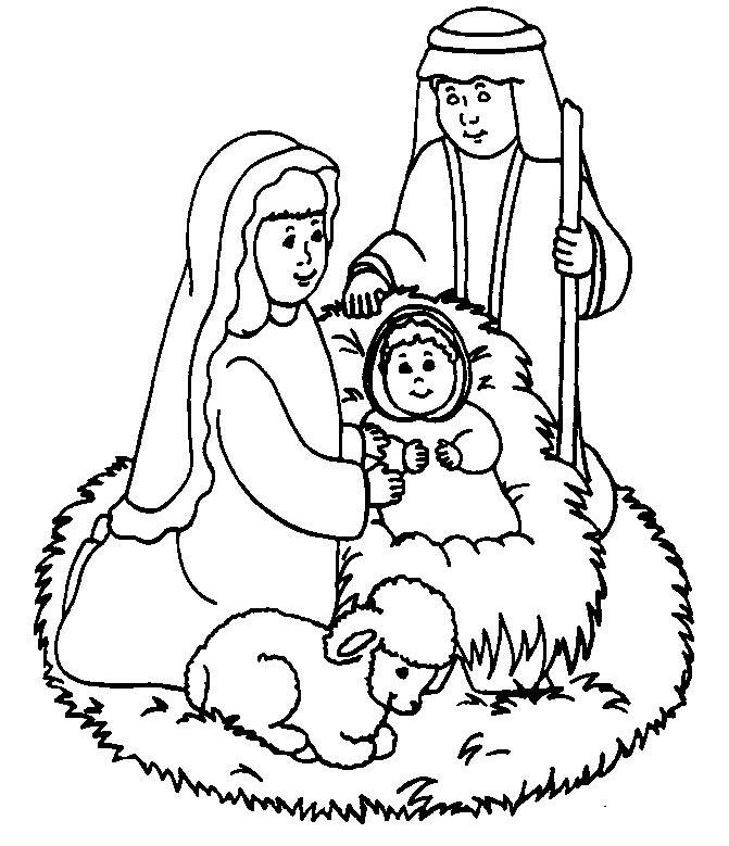 Nativity Coloring Sheets With Bible Verse Coloring Pages