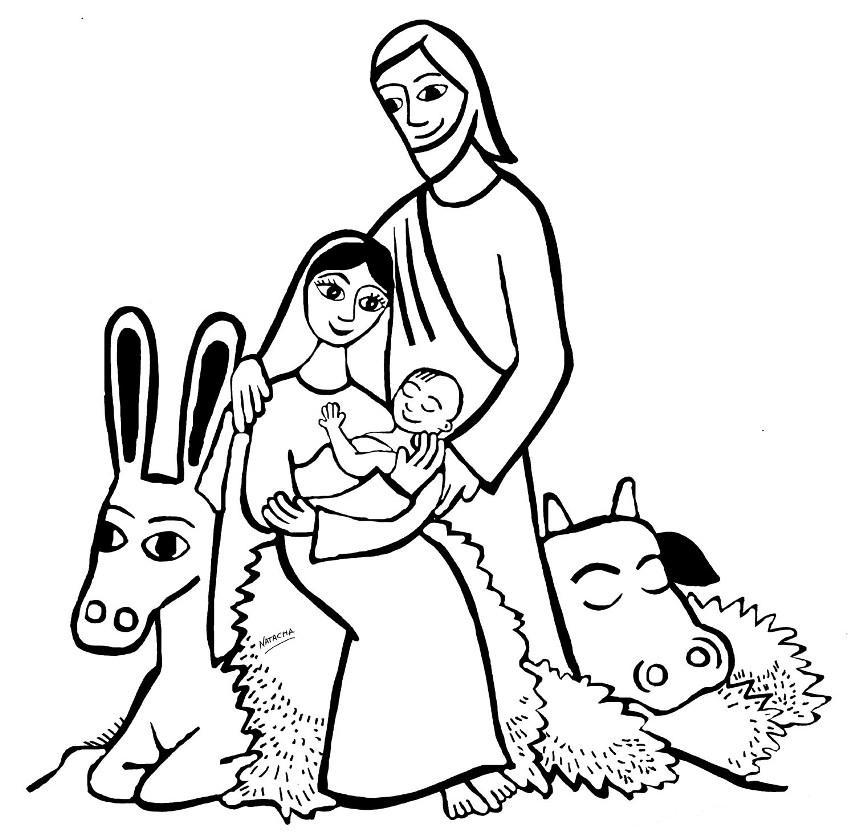 Birth Of Jesus Coloring Pages Nativity Of Jesus Coloring Birth Of Jesus Coloring Page