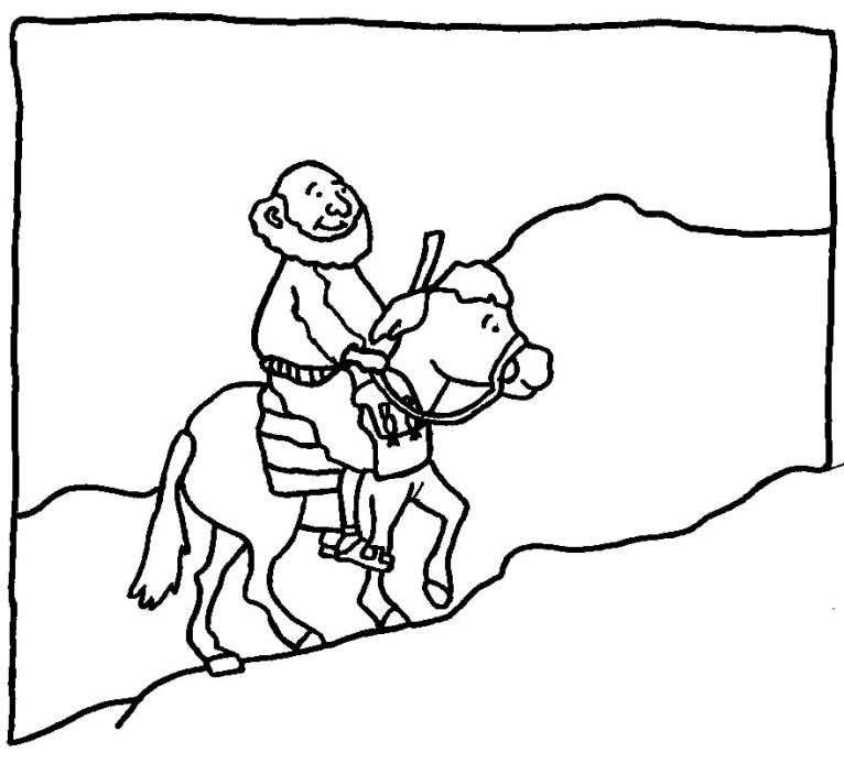 Free El Buen Samaritano Coloring Pages