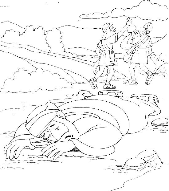 the good samaritan coloring pages  wanocolorhd
