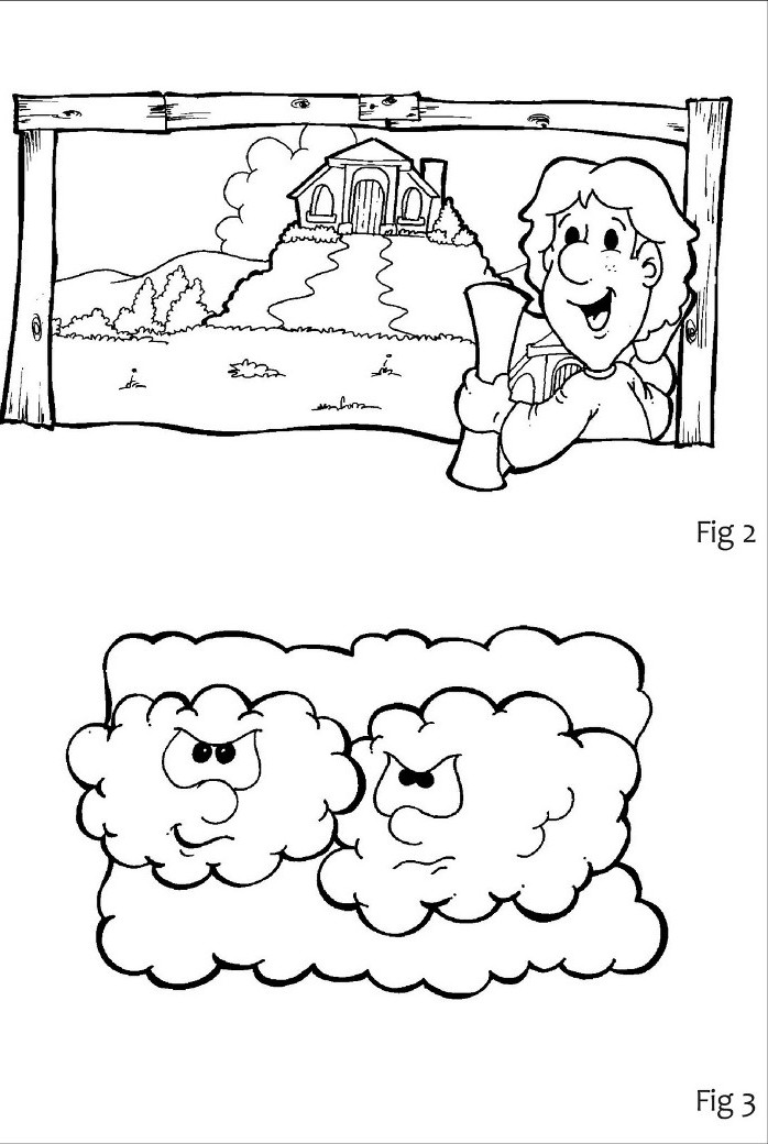 Free Coloring Pages Of Wise Man Built His House