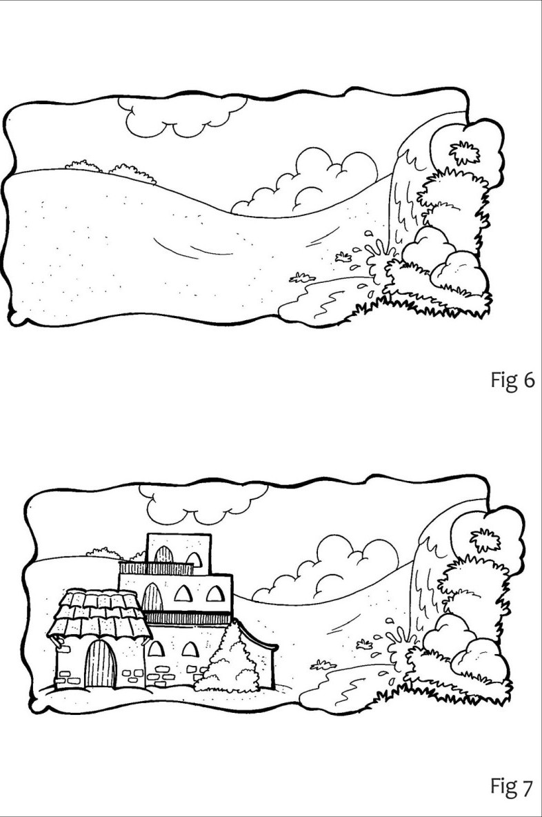 The House On The Rock Coloring Pages
