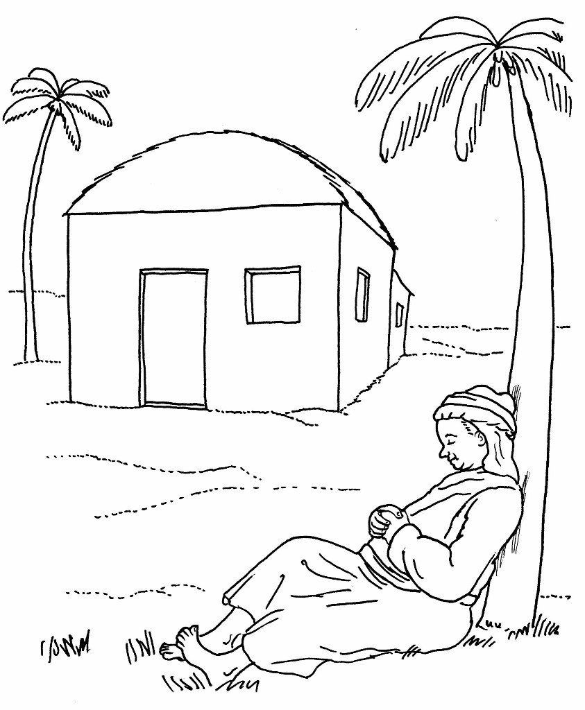 Free coloring pages new testament - 04