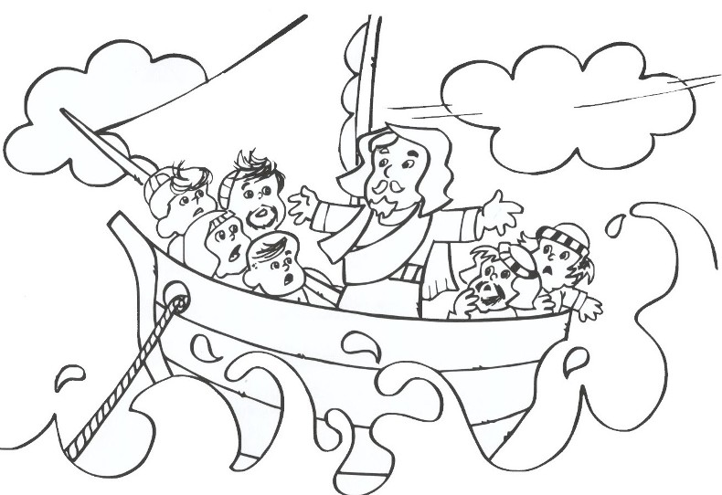 ocean storm coloring pages - photo#27