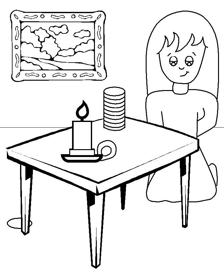 lost coin coloring pages - photo#21