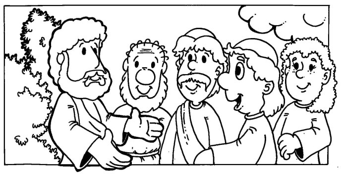 the lost sheep coloring page - the lost sheep parable coloring pages