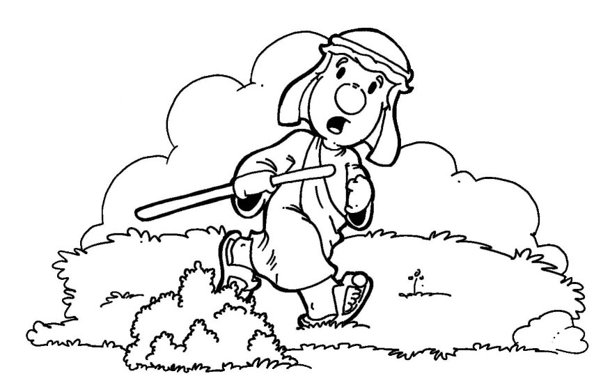 Parable Of The Lost Sheep Coloring Page Coloring Pages