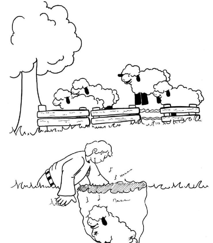 Free Coloring Pages Of Good Shepherd Maze